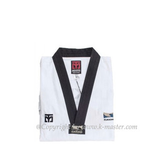 [무토]MOOTO BS4 국기원도복(검정깃)  [K]MOOTO BS4 KUKKIWON Uniform[Black Neck]