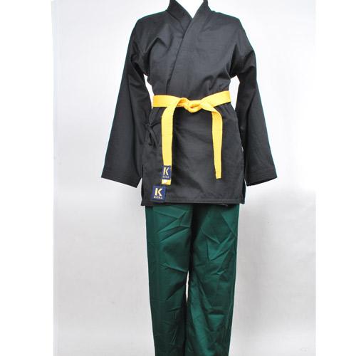 맞춤도복(흑상녹하) HAPKIDO-UNIFORM-basic B/G