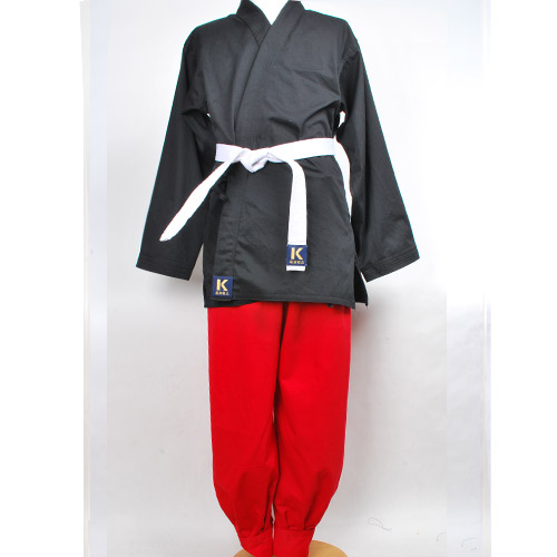 맞춤도복(흑상적하) HAPKIDO-UNIFORM-basic B/R