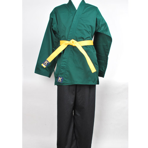 맞춤도복(녹상흑하) HAPKIDO-UNIFORM-basic G/B