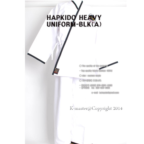 HAPKIDO-HEAVY-UNIFORM-BLK(A)
